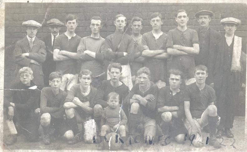Burton F.C. 1921-22