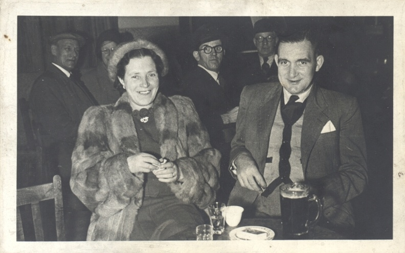 Emily Ashforth (née Emily Bellamy 1903-1992) and Ernest Ashforth 1905-1990