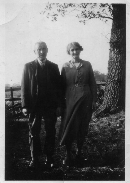 Joseph Barker Smith 1875-1956 and Sarah Elizabeth Smith (née Sarah Elizabeth Maplethorpe 1876-1962)