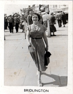 Emily Ashforth (née Emily Bellamy 1903-1992) Bridlington, Yorkshire, England