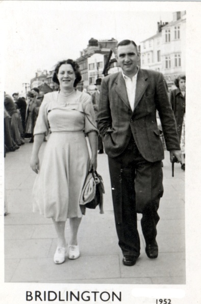 Ernest Ashforth 1905-1990 and Emily Ashforth (née Emily Bellamy 1903-1992)
