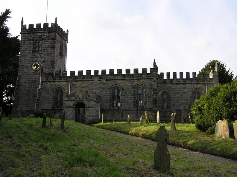 Church of Saint Cuthbert, Crayke, North Yorkshire