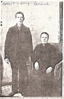 Robert Renwick 1859-1919 and Emily Renwick (née Emily Cooper 1861-1926)