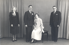 2017-01-13-15-15-14-00 -- Marriage of Raymond Knapton and Barbara Hazel Browes, 1951, Sheffield